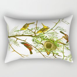 Orchard Oriole Bird Rectangular Pillow
