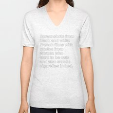 Screenshots and Quotes Unisex V-Neck