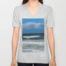 Stormy Weather Unisex V-Neck