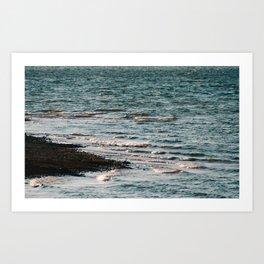 Lake Strom Thurmond Art Print