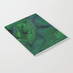 green iguana Notebook