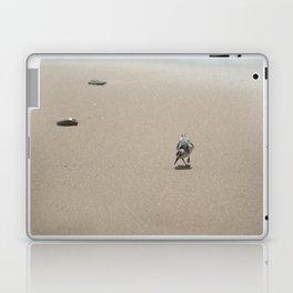 Sandpiper bird on wet sand Laptop & iPad Skin
