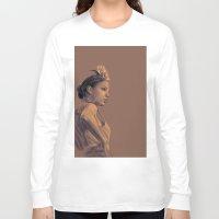 gypsy Long Sleeve T-shirts featuring Gypsy by Daniel Cisneros