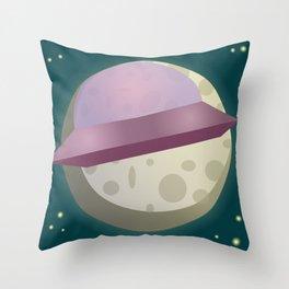 E-moon Throw Pillow