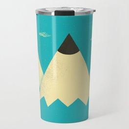 Pencil Mountains Travel Mug
