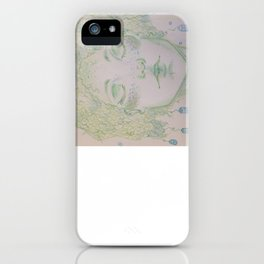 A woman of Crystals iPhone Case
