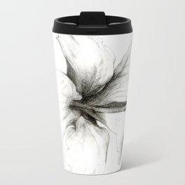 Hibiscus 1 Metal Travel Mug