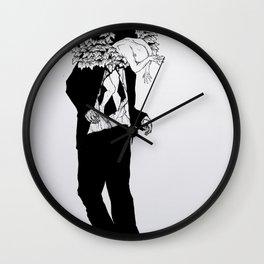 home sweet home 01 Wall Clock