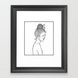 Alienated Geisha Framed Art Print
