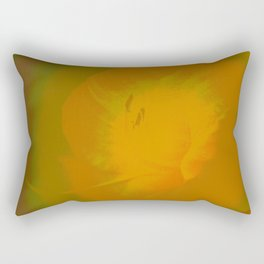 Day Lily Abstract Rectangular Pillow
