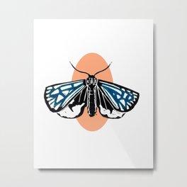 Moth II Metal Print