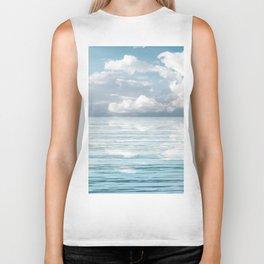 Ocean Landscape Biker Tank