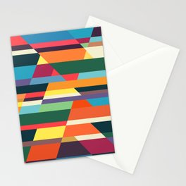 The hills run to infinity Stationery Cards