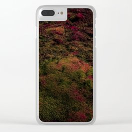 Dark Warmth Clear iPhone Case