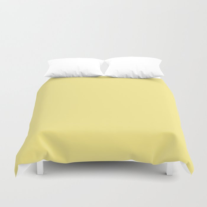 Daffodil Yellow - Solid Color Collection Duvet Cover