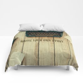 write your own story II Comforters