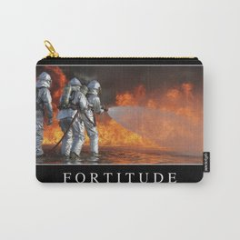 Fortitude: Inspirational Quote and Motivational Poster Carry-All Pouch