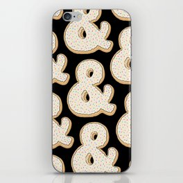 Ampersandonut iPhone Skin