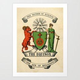 Equinox Cover Art Print