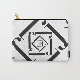 "Dizzy - The Didot ""j"" Project Carry-All Pouch"