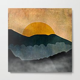 mountain-343 Metal Print