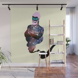 Hipster Genie Wall Mural