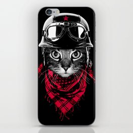 Adventurer Cat iPhone Skin