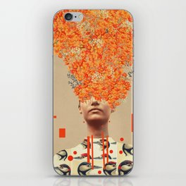 Bird Flight in Autumn iPhone Skin