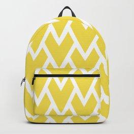 Abstract Heart - Arrow Head Shape Pattern 17 V2 Pantone 2021 Color Of The Year Illuminating 13-0647 Backpack