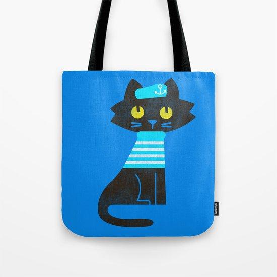 Fitz - Sailor cat Tote Bag