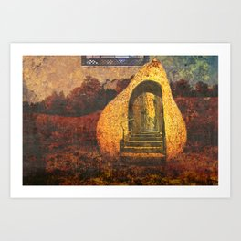 exit within Art Print