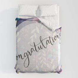 CONGRATULATIONS Comforters