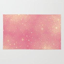 Rose Gold Galaxy Rug