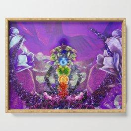 Cosmic Goddess Serving Tray
