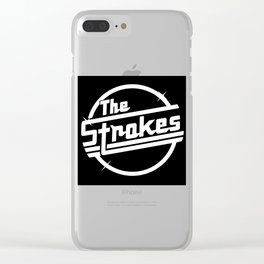 THE STROKES WORLD TOUR DATES 2019 PAHOMAN Clear iPhone Case