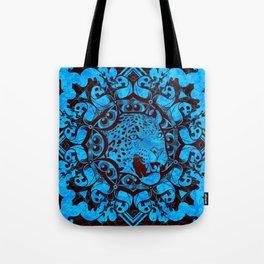 Radial Totem - Jaguar Tote Bag
