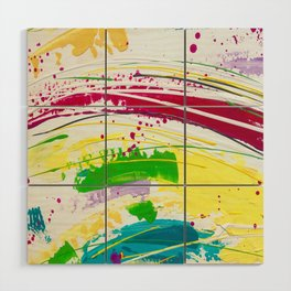 Colour Riot ! Wood Wall Art