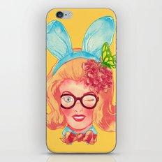Lapin Belle iPhone & iPod Skin