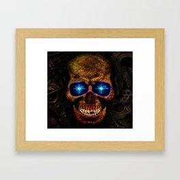 rusty robot Framed Art Print