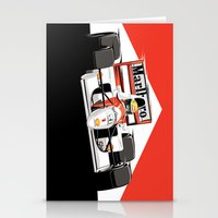senna Stationery Cards featuring Ayrton Senna x McLaren by Sean Kane Design