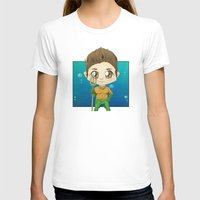 stiles stilinski T-shirts featuring Aqua Stiles by dephigravity