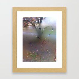 Steamy Framed Art Print