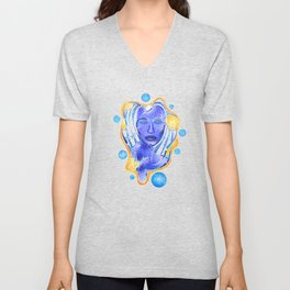Angeonilium V4 - frozen beauty Unisex V-Neck