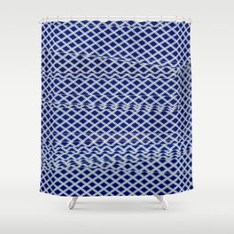 Solitaire Zoom Shower Curtain