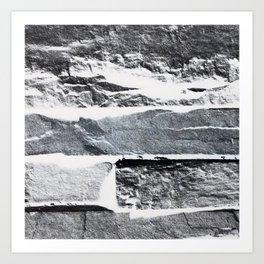 Arctic Stone Art Print
