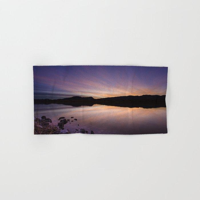 Pahranagat National Wildlife Refuge Sunset #2 Hand & Bath Towel