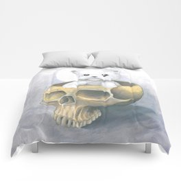 i ated all the brains Comforters
