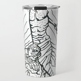 B&W Moshiach 2 Travel Mug