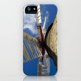 Windmill sails iPhone Case