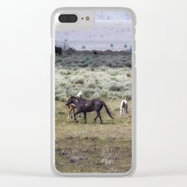 Snaking, No. 2 Clear iPhone Case